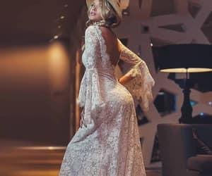 dresses, wedding dresses, and girls image
