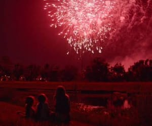 fireworks, red, and the florida project image