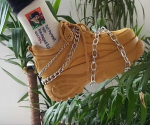style, chains, and shoes image
