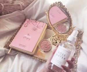 pink, aesthetic, and makeup image