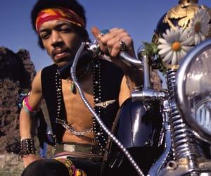 Jimi Hendrix, music, and psychedelic image