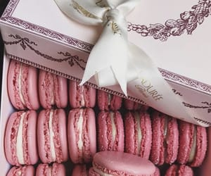 french, french pastry, and macaroons image