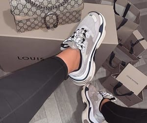 fashion, sneakers, and bag image