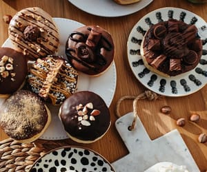 bakery, chocolate, and dessert image