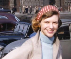 sylvia plath, paris, and 1950s image