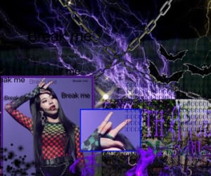 cyber, dark, and edit image