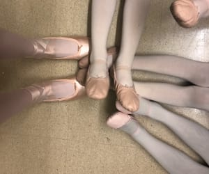 aesthetic, ballet, and pointe shoes image