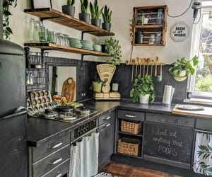 green, inspiration, and kitchen image