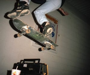dark, grunge, and skate image