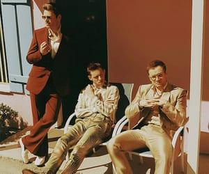 Jamie Bell, richard madden, and taron egerton image