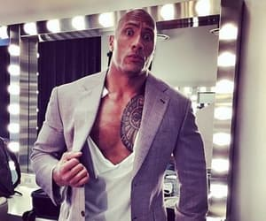 Dwayne Johnson, raw, and smack down image