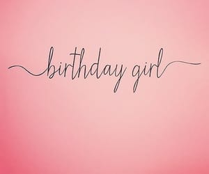 birthday, confetti, and girl image