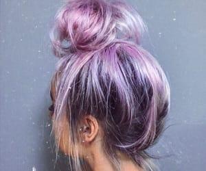 bun, lavender, and pastel image