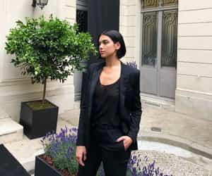 girl, dua lipa, and fashion image