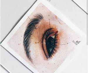 aesthetic, art, and eye image