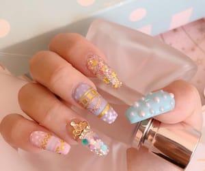 alternative, moda, and nails image