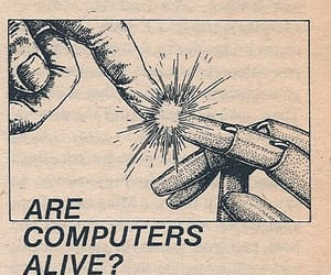 alive, computer, and humans image