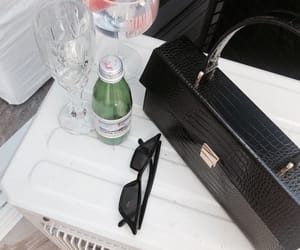 accessories, bag, and drinks image