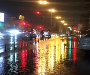 color, nights, and rain image