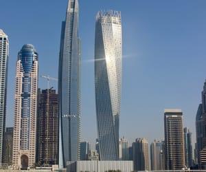 buildings, Dubai, and marina image