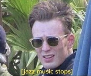 chris evans and reaction pics image