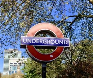 london, underground, and United Kingdom image