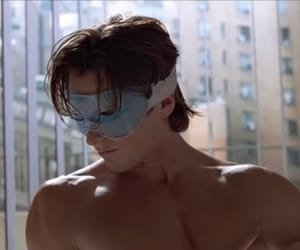 morning, american psycho, and christian bale image