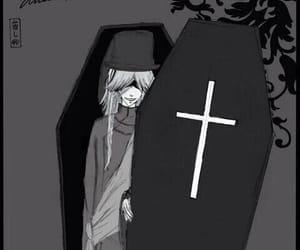anime, undertaker, and black butler image