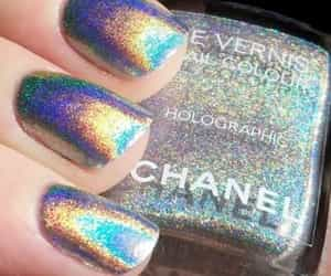 chanel, holographic, and fancy image