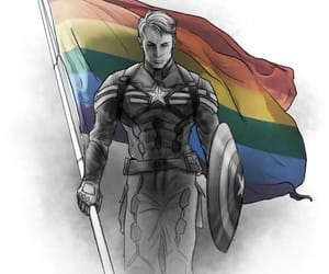 captain america, steve rogers, and art image