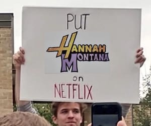 hannah montana, movie, and netflix image