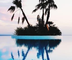 ocean, travel, and beach image