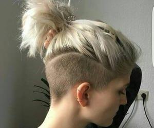 badass, hair, and undercut image
