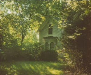 green, home, and house image