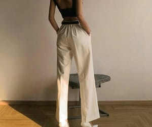 chic, pants, and clothes image