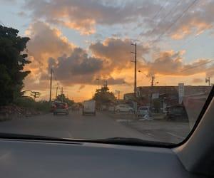 gratitude, nature, and sunset image