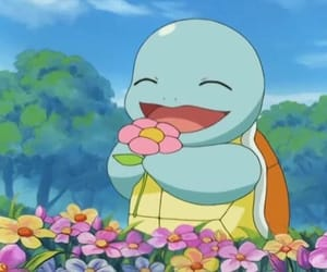pokemon, anime, and flowers image