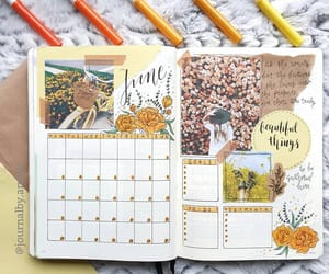 journal, bujo, and planner image