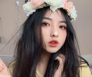 asian, korean, and beauty image