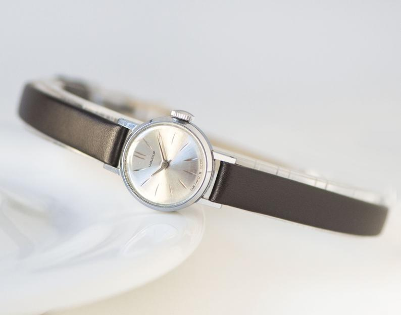 etsy, watches for women, and silver women watch image