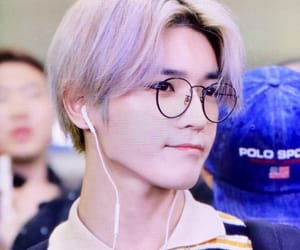 airport, glasses, and k-pop image
