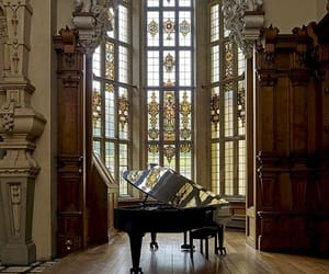 architecture and piano image
