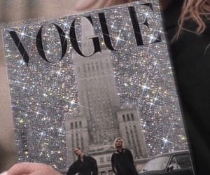 fashion, vogue, and glitter image