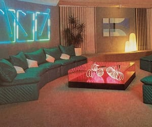 80s, decoration, and green image