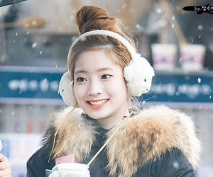 asian, girl, and snow image