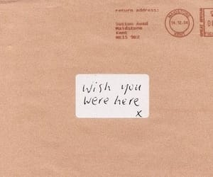 quotes, wish, and wish you were here image
