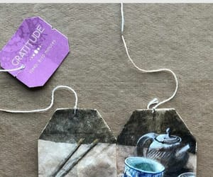 art, tea bags, and something different image