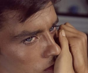 Alain Delon, boy, and couple image