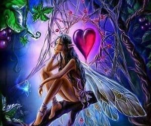 art, faery, and so vibrant image