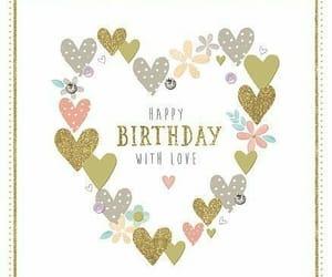 happy birthday, hearts, and 💕 image
